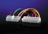 ROLINE 11.03.1018 :: ROLINE вътрешен адапторен захранващ кабел, 24-20 ATX