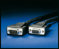 ROLINE 11.04.5302 :: VGA кабел HD15 M/F, 2.0 м, удължителен, Quality