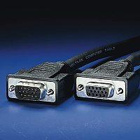 ROLINE 11.04.5306 :: VGA кабел HD15 M/F, 6.0 м, удължителен, Quality