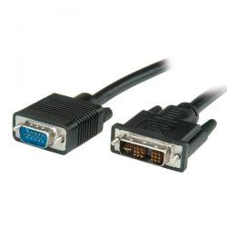 ROLINE 11.04.5430 :: Кабел за монитор DVI / HD15 M, 3.0 м