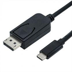 ROLINE 11.04.5846 :: ROLINE USB Type C към DisplayPort кабел, 2.0 m