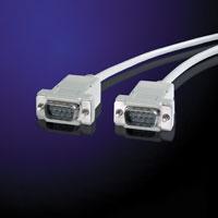 VALUE 11.99.6018 :: RS-232 сериен кабел D9 M/M, 1.8 м, 9 проводника, сглобяем