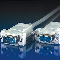 VALUE 11.99.6233 :: RS-232 сериен кабел D9 M/F, 3.0 м, 9 проводника, сглобяем, удължителен