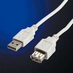 VALUE 11.99.8949 :: USB 2.0 кабел, Type A M/F, 1.8 м