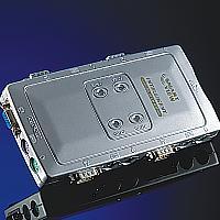 VALUE 14.99.3294 :: Автоматичен KVM Switch, 1x User към 4x PCs, пластмасов, без захранване, Pocket