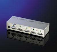 VALUE 14.99.3514 :: Видео/Аудио сплитер, 4-портов, 400MHz
