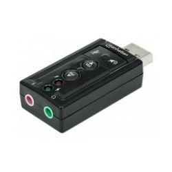 MANHATTAN 151429 :: Hi-Speed USB 2.0 3D звукова карта, 7.1 канална