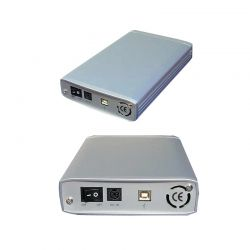 """ROLINE 16.01.4248 :: Външна HDD кутия, алуминиева, 5.25"""", USB 2.0"""