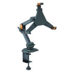 ROLINE 17.99.1151 :: VALUE Holder for iPad/Ebook/Tablet, Clamp Type 4 Joints