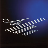 """ROLINE 19.08.3274 :: Ленти за прихващане на кабел (""""свинска опашка""""), 44 см, 4.8 мм"""
