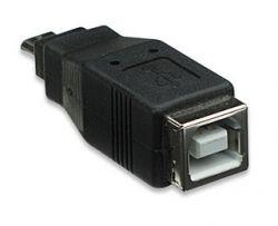 MANHATTAN 308694 :: Преходник USB B/F към micro B/M