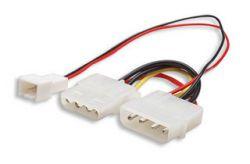 MANHATTAN 330411 :: Монтажен адаптор power 3-4pin 0.2 м