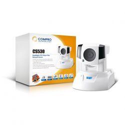 Compro CS530 :: Day-Night PTZ IP охранителна камера, MJPEG, 30fps VGA