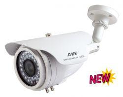 "CIGE DIS-869MT/EF :: Охранителна камера, 1/3"" 960H ExView CCD Sony, 9-22 мм варифокален обектив, 60 м IR прожектор, 700 TVL, IP66"