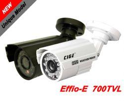 "CIGE DIS-968EF :: Охранителна камера, 1/3"" 960H ExView CCD Sony, 3.6 мм обектив, 25 м IR прожектор, 700 TVL, IP66, бяла"