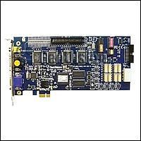 GeoVision GV-1120X/16 D-SUB :: Охранителна платка GV-1120X, 16 порта, D-Sub, PCI-E, 400/100 fps