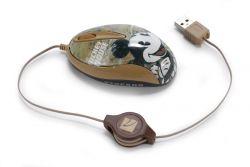 TUCANO MINI-MKERDM-01 :: Оптична мини мишка, 800 dpi, Mickey, светещ scroll
