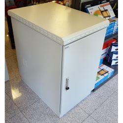 """MIRSAN MR.IP66PTSY609020U.03-3 :: IP66 outdoor шкаф, 19"""", 670 x 1100 x 955 мм / 20U, D=900 мм, двойни стени - 3.0 мм, с 4 вентилатора, бял"""