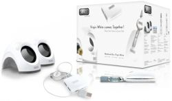 SWEEX SP940 :: Notebook Speakers BOX Virgin White