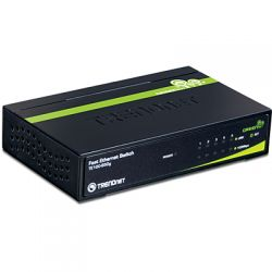 TRENDnet TE100-S50G :: 5-Port 10/100Mbps GREENnet Switch