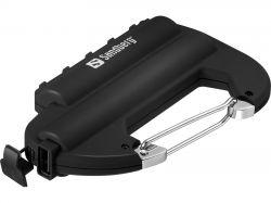 SANDBERG SNB-420-44 :: 6000 mAh Carabiner Powerbank IP67 - резервно захранване за преносими устройства