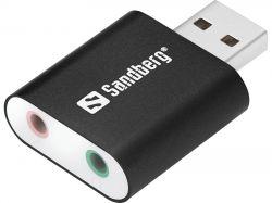 SANDBERG SNB-133-33 :: Hi-Speed USB 2.0 звукова карта