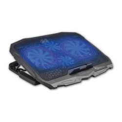 WHITE SHARK CP-25:: Охлаждаща поставка за лаптоп Ice Warrior, с 4 вентилатора