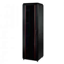 MIRSAN MR.GTV36U66DE.01 :: Сървърен шкаф - 36U, D=600mm, W=600mm, Черен, свободно стоящ, Versatile, Разглобен