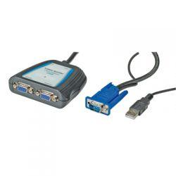 VALUE 14.99.3524 :: VGA видео сплитер, 2х1, 450 MHz