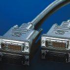 ROLINE 11.04.5555 :: Кабел за монитор DVI M/M, dual link, 5.0 м