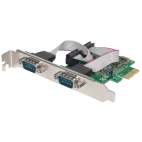 MANHATTAN 152082 :: Serial PCI Express Card, 2 Ports DB9 RS232, x1 Lane