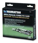 MANHATTAN 158251 :: Контролер PCI 1x DB25 LPT+ 2x DB9 RS232