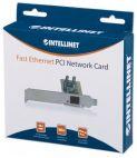 INTELLINET 509510 :: Мрежова карта 10/100 Mbps, PCI, Low-profile