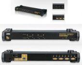 ATEN CS1754 :: Rack-Mount KVM превключвател, 4x 1, Combo ports (PS2 & USB), 2048x 1536; DDC2B