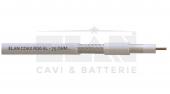 ELAN 080061 :: Cable Coax CCTV/SAT TV, RG6 AL, 75 Ω, Ø 6.80 mm, 100 m