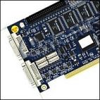 GeoVision GV-1240/8 DVI :: Охранителна платка GV-1240, 8 порта, DVI, PCI, 400/200 fps