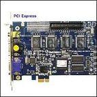 GeoVision GV-1240X/16 PCI-E :: Охранителна платка GV-1240X, 16 порта, PCI-E, 400/200 fps