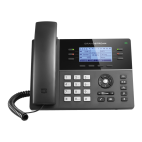 GRANDSTREAM GXP1760 :: VoIP phone for small businesses, 6 lines, 3 SIP,