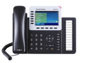 GRANDSTREAM GXP2160 :: VoIP телефон с 6 линии, 24 BLF клавиша, цветен TFT екран, HD звук, Bluetooth, 5-посочна конференция