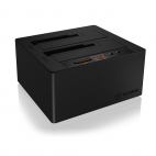 "RAIDSONIC IB-121CL-C31 :: Type-C™ 2 bay Docking and CloneStation with USB 3.1 for 2.5"" & 3.5"" SATA HDDs"