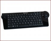 KeySonic KSK-3200 RF :: wireless, super-mini keyboard with trackball