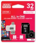 GOODRAM M1A4-0320R11 :: 32 GB MicroSD HC All in One, Class 10, UHS-1