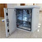 MIRSAN MR.MOB02.03 :: Шкаф за CCTV оборудване, 680 x 710 x 510 мм, D=400 мм, IP65, бял