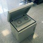 MIRSAN MR.MOB03.03 :: CCTV Cabinet, 625 х 530 х 480 mm, IP65, white