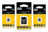 GOODRAM SDU32GHCAGRR10 :: 32 GB Micro SDHC Card with SD Adapter, Class 4
