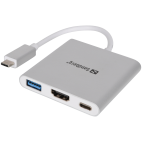 SANDBERG SNB-136-00 :: USB-C Mini Dock HDMI+USB