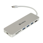 SANDBERG SNB-136-11 :: USB-C Dock HDMI+SD+USB+USB-C