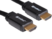 Sandberg SNB-508-97 :: Кабел Sandberg HDMI 2.0 4K Ultra HD 19M-19M, 1.0 м