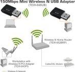 TRENDnet TEW-648UB :: 150Mbps Mini Wireless N USB Adapter