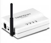 TRENDnet TEW-MFP1 :: 1-Port Wireless N Multi-Function USB Print Server